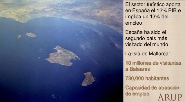 El sector turístico aporta en España el 12% PIB e implica un 13% del empleo  España ha sido el segundo país más visitado d...