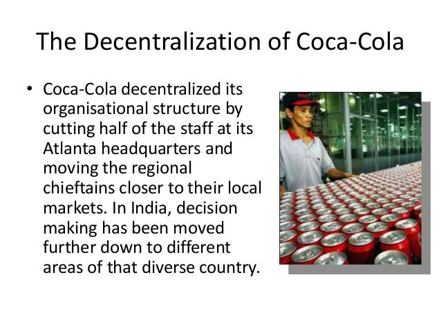 centralization vs decentralization in warehouse and