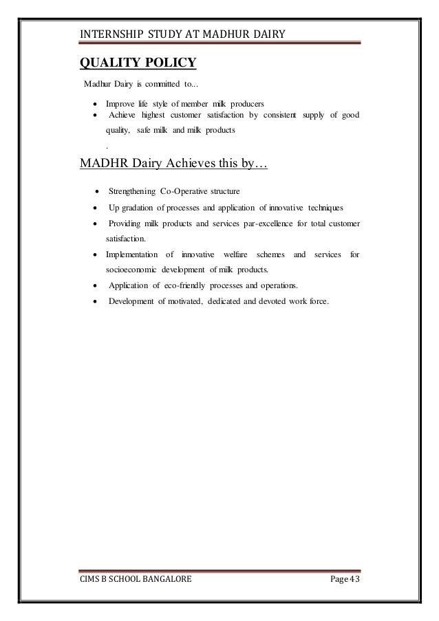 Dairy internship report Essay Service hopaperqaiu ...
