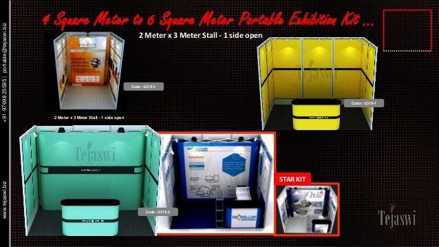 Portable Exhibition Kit : Portable exhibition kits india mumbai delhi bangalore chennai