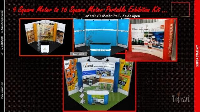 Portable Exhibition Kit : Portable exhibition kit solution catalogue