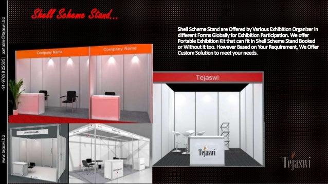 Portable And Reusable Exhibition Kit : Portable exhibition kit solution catalogue