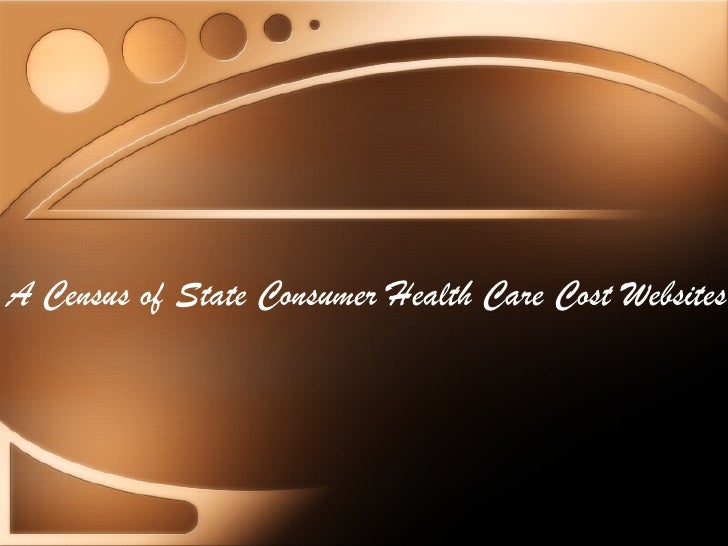 A Census of State Consumer Health Care Cost Websites