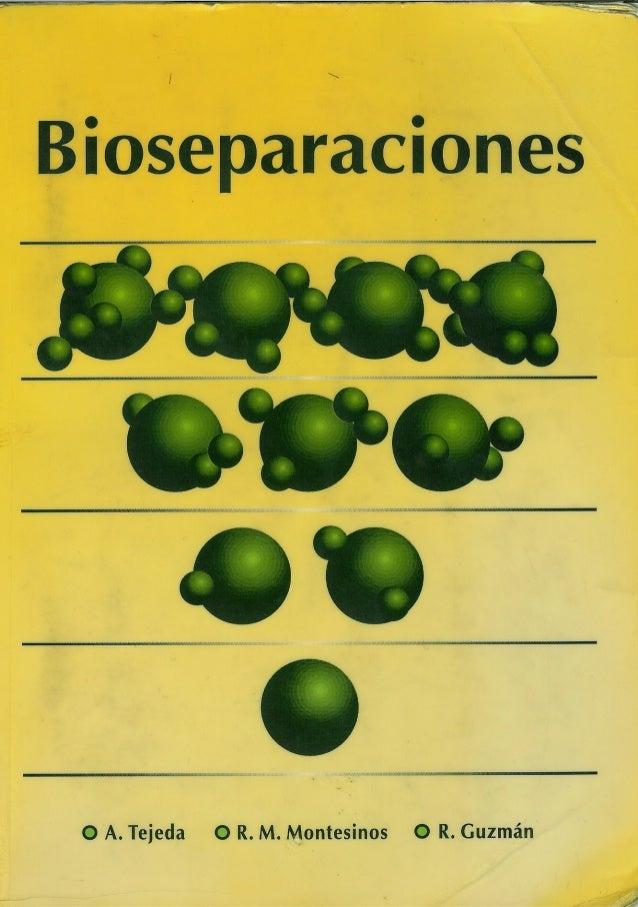 bioseparaciones tejeda