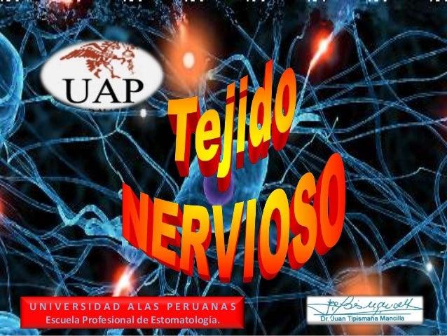 UNIVERSIDAD ALAS PERUANAS Escuela Profesional de Estomatología.