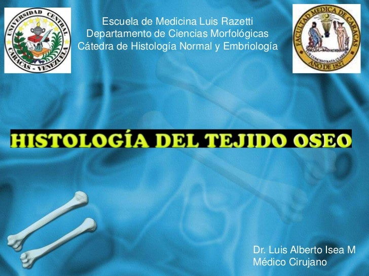 Escuela de Medicina Luis Razetti Departamento de Ciencias MorfológicasCátedra de Histología Normal y Embriología          ...