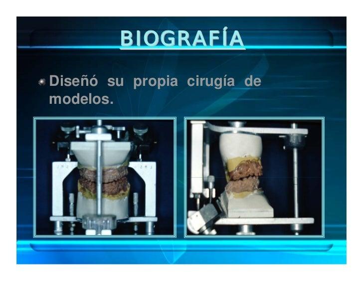BIOGRAFÍA Publicó el Manual de Diagnóstico Cefalométrico.  Basó     en    49    puntos tomando            medidas independ...