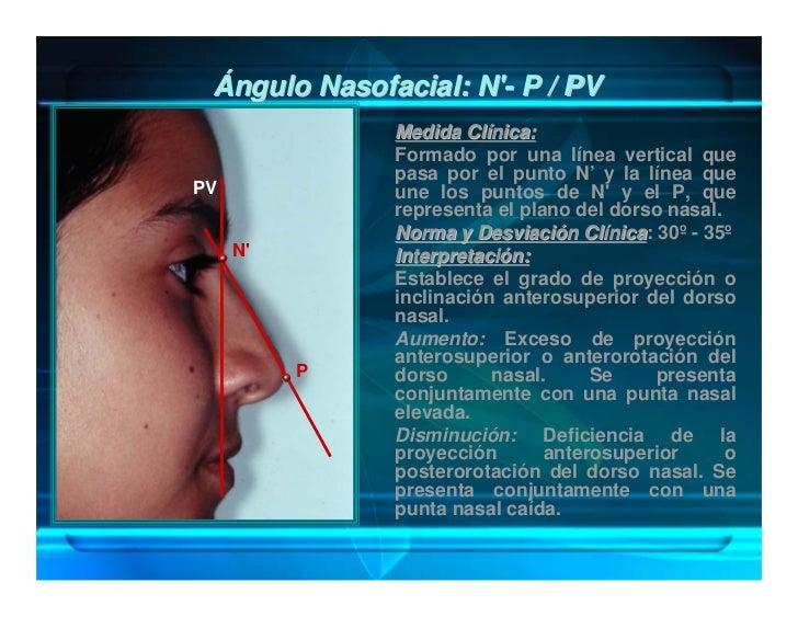Ángulo Cervicomandibular: Me-CM / Ce                     Autor: Scheideman.                     Medida Clínica:           ...