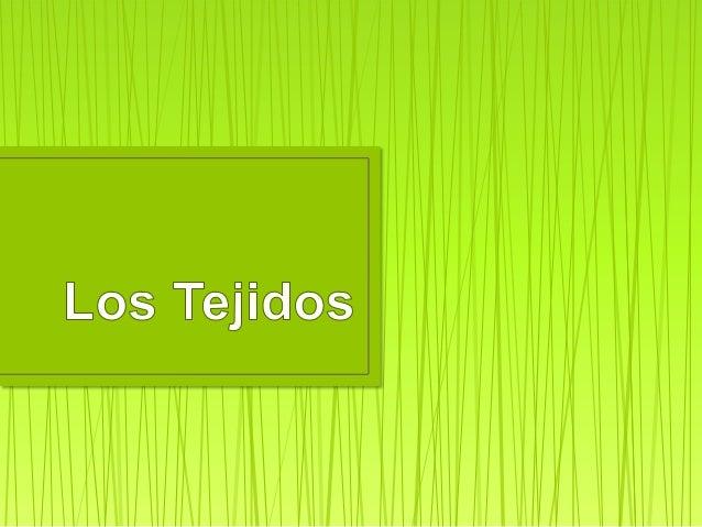 Todas las células de nuestro cuerpo forman parte de uno de los cuatro tipos básicos de tejidos:  Tejido Epitelial Se encu...