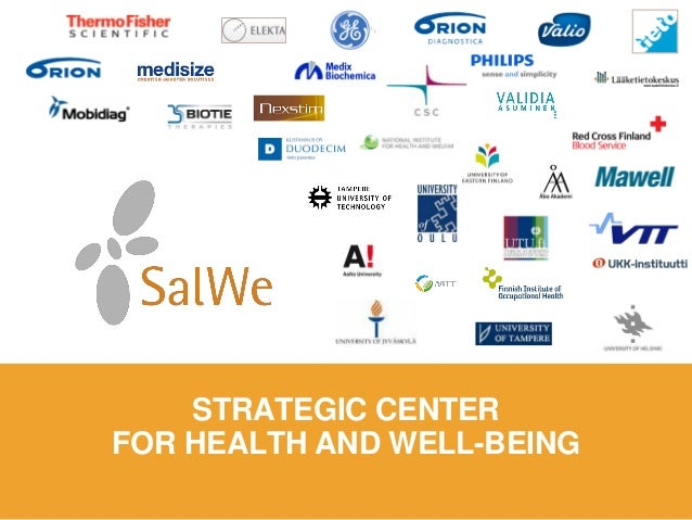 STRATEGIC CENTER  FOR HEALTH AND WELL-BEING