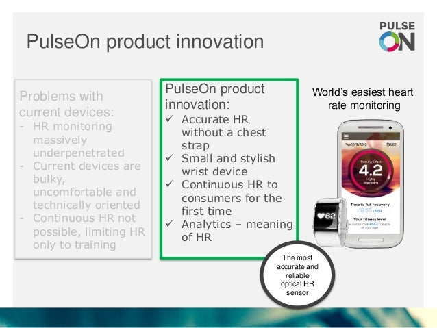 PulseON - we make heart rate monitoring easier than ever