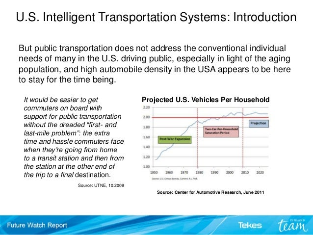 intelligent and non intelligent transportation systems Intelligent transportation system an intelligent transportation system (its) is an electronic device placed along a roadway to encourage safe travel.