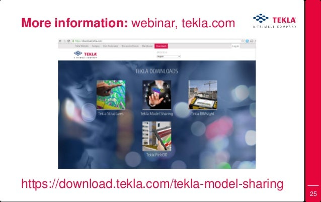 Tekla Downloads
