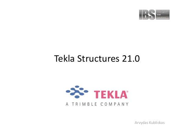 Tekla Structures 21 0