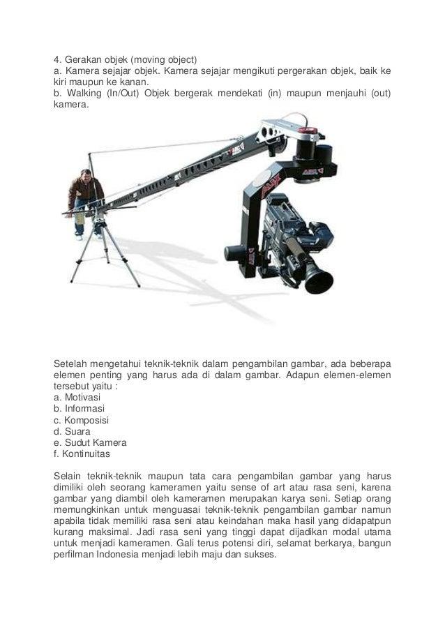 Teknik Pengambilan Gambar