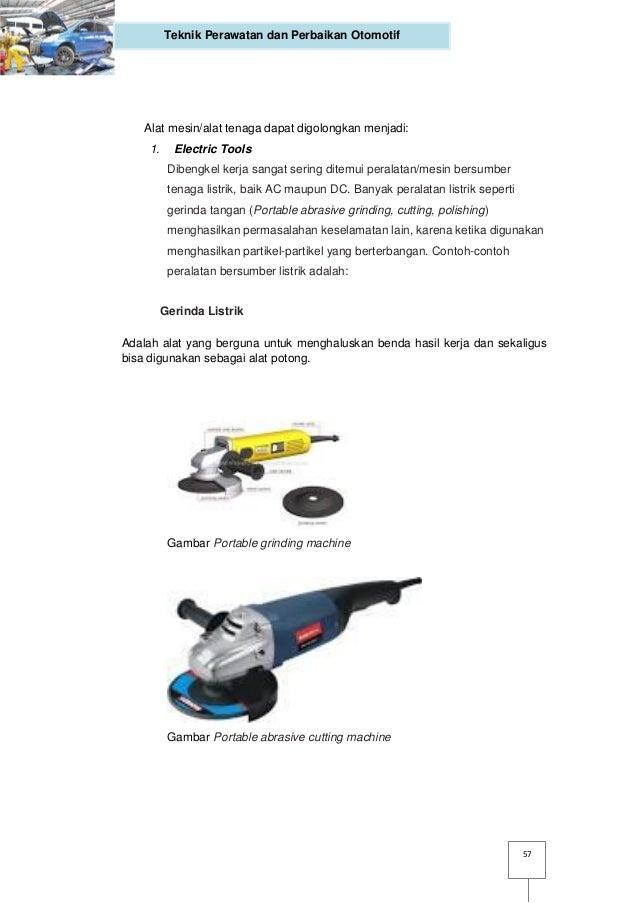Sebutkan 3 Contoh Alat Tenaga Power Tools - Sebutkan Itu