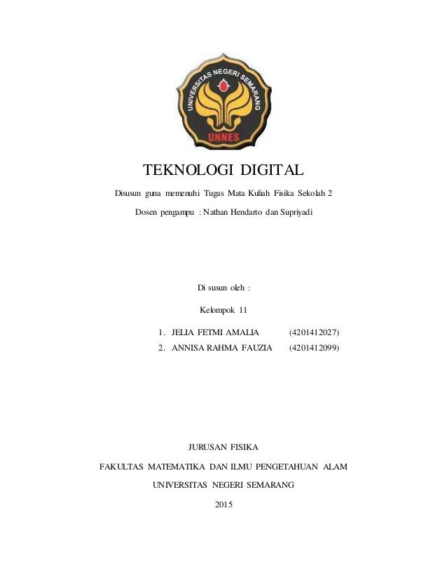Materi Teknologi Digital Fisika Sma