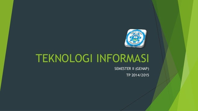 Teknologi informasi  Slide 2