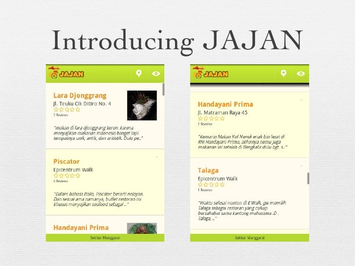 Introducing JAJAN