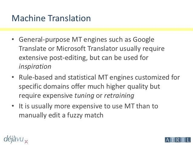 DeepMiner - Advanced Leveraging : Integrating Translation Memories an…
