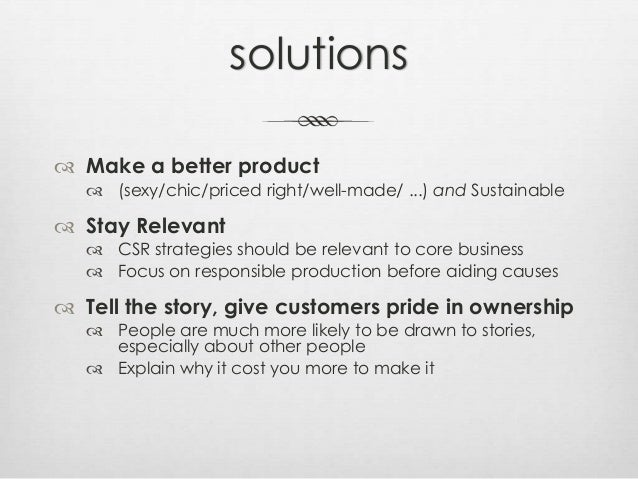 TEKO presentation on recycled fashion Slide 3