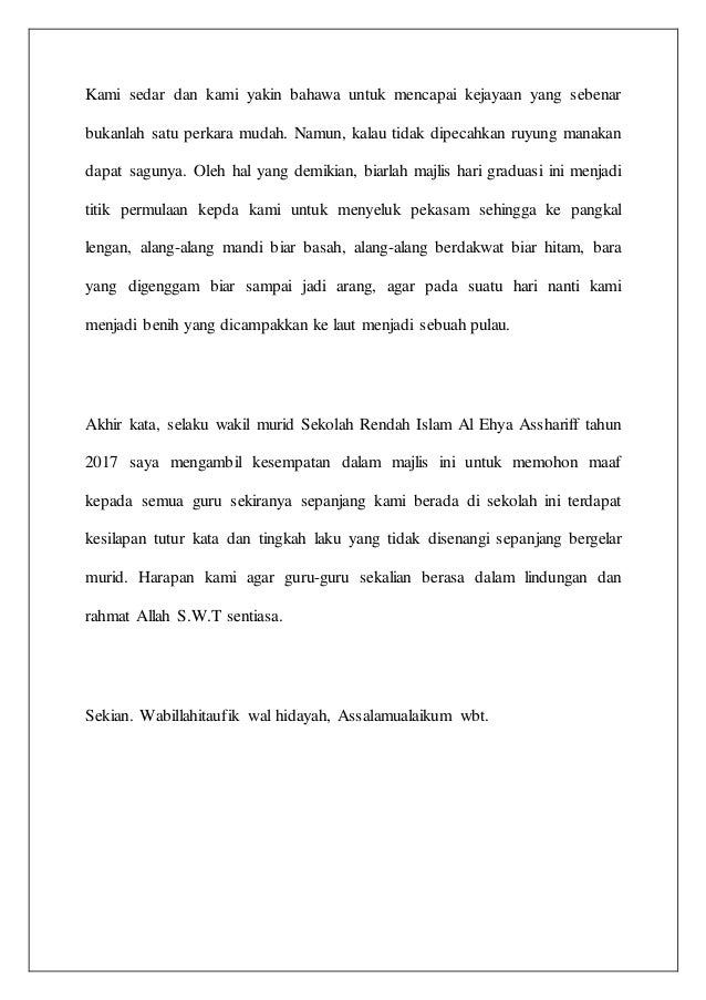 teks-ucapanwakilmuridgraduasitahun6-4-638 Application Letter Yang Mudah on com my johor, property malaysia, rumah sewa johor, resepi kek paling, jual motor malaysia, masakan indonesia, malaysia terpakai, car grand livina, contoh gambar batik, malaysia buy sell, kereta murah terpakai,