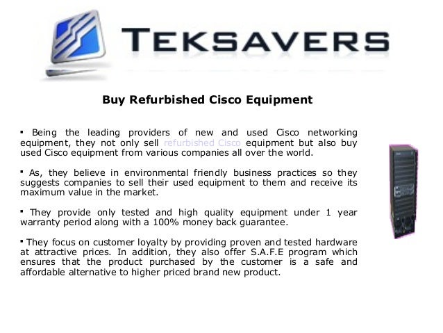 Teksavers: One Of The Finest Cisco Reseller In Texas