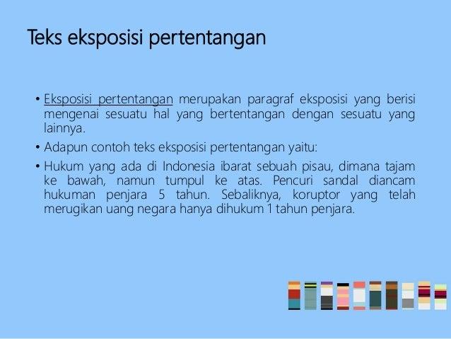 Teks Eksposisi Bahasa Indonesia Kelas X Smt 1