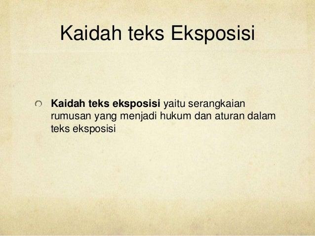 Presentasi Teks Eksposisi Kelompok 2