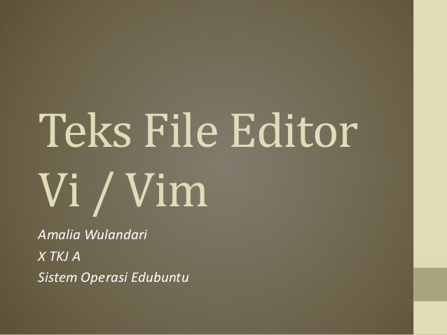 how to delete a file in vi editor
