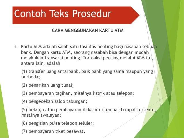 Teks prosedur kompleks (Bahasa Indonesia) Citra Pramita