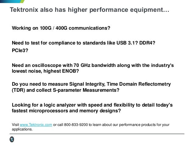 Tektronix keithley Product and Application update Q2 2016