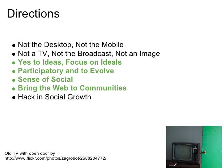 TelaSocial Presentation and Lessons Learned with the Pilot