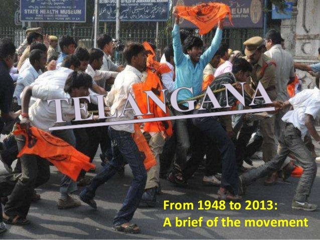 From 1948 to 2013: A brief of the movement