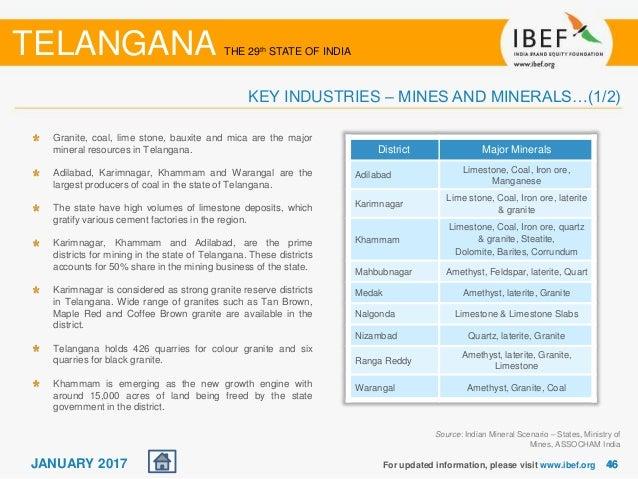 Telangana State Report January 2017