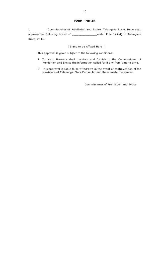 Telangana micro-brewery-rules-20151