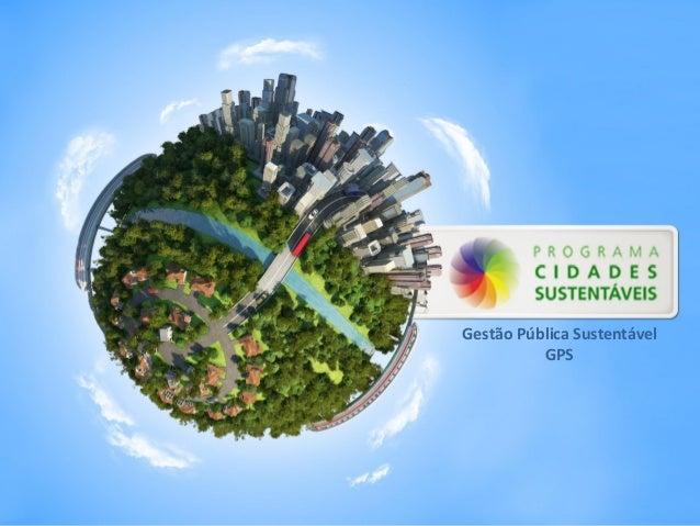 Gestão Pública Sustentável GPS