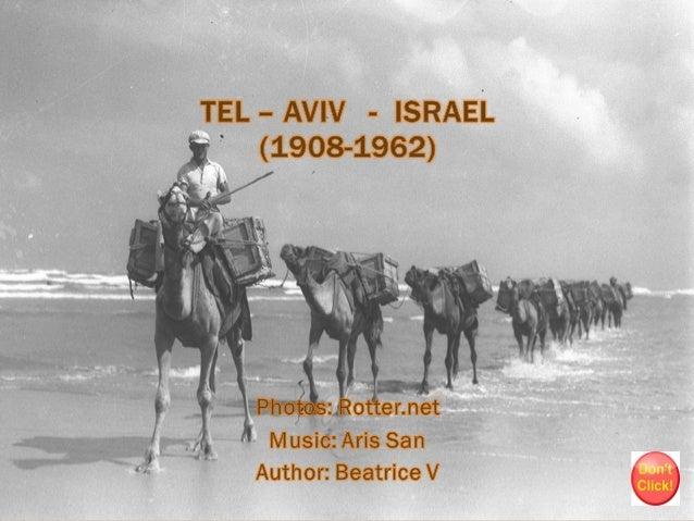 Tel aviv 1908 1962