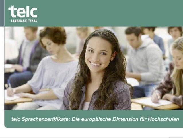 telc GmbH - Firmenpräsentation