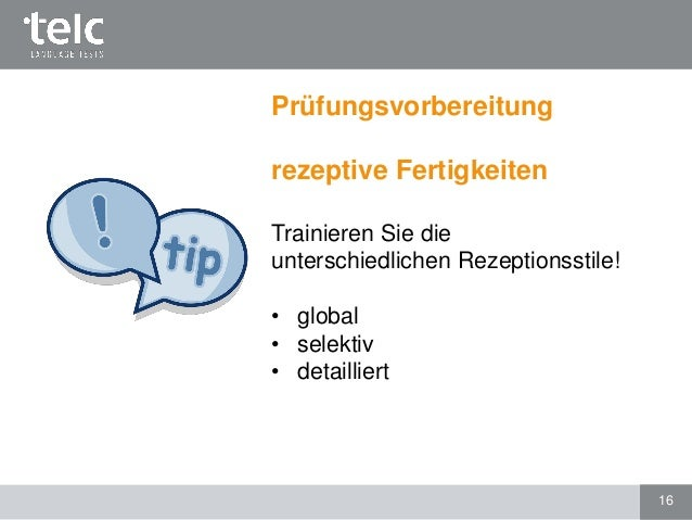 Telc Deutsch C1 Hochschule Prüfungsformat Und Vorbereitung