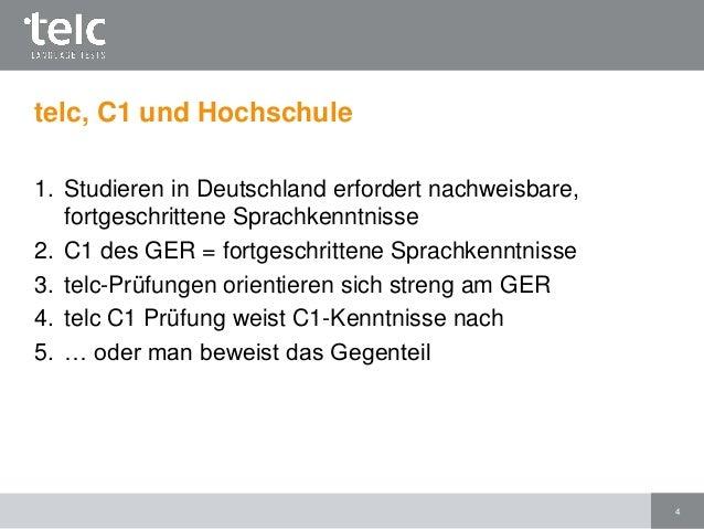 Brief Schreiben C1 Muster : Telc deutsch c hochschule prüfungsformat und vorbereitung