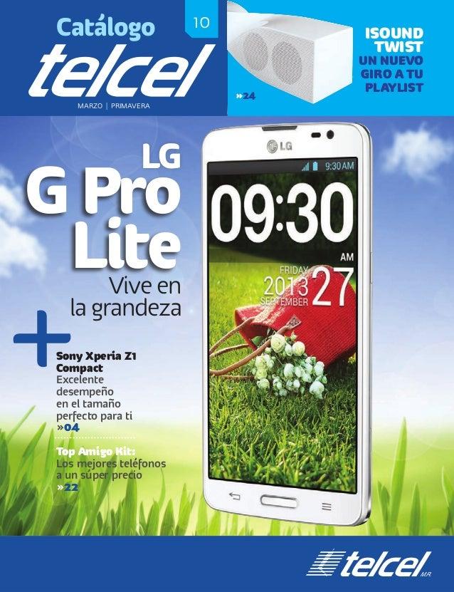 10Catálogo MARZO   PRIMAVERA ISOUND TWIST UN NUEVO GIRO A TU PLAYLIST »24 LG G Pro LiteVive en la grandeza Sony Xperia Z1 ...