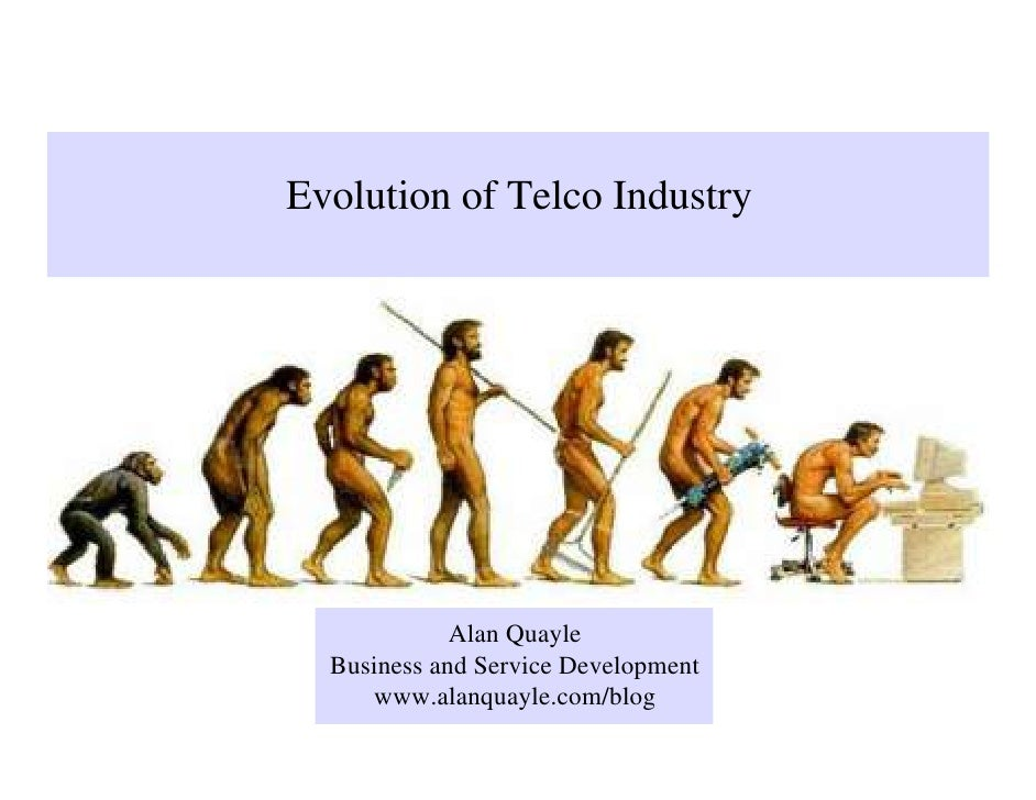 Evolution of Telco Industry                  Alan Quayle   Business and Service Development      www.alanquayle.com/blog