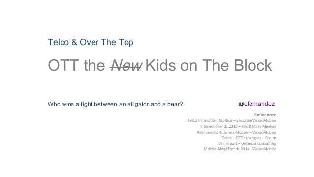 Telco & Over The Top