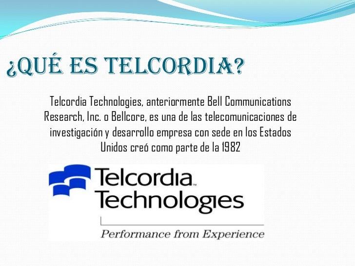Telcordia