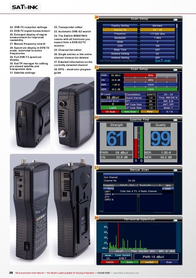 TELE-audiovision 1505