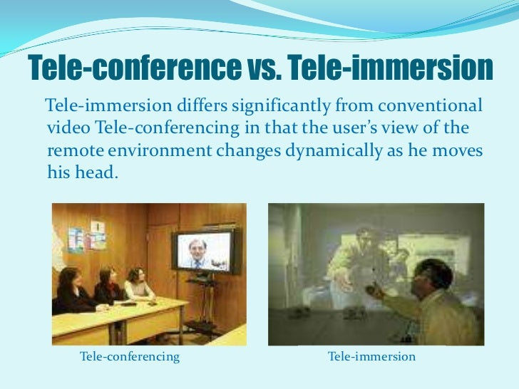 history of tele immersion Immersion immersion is a series  for broadcast on television rooster teeth released some of this work on their website  and a history of the red vs blue.