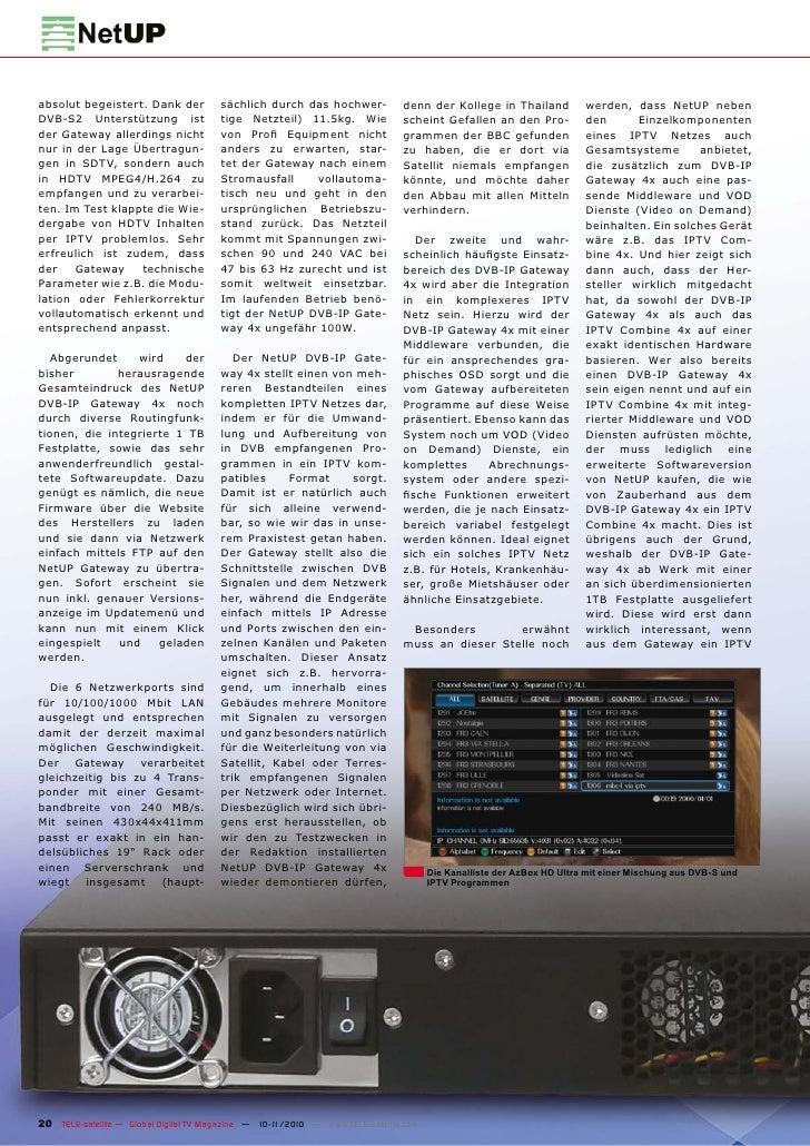 TEST REPORT                   DVB-S2 SignalmessgerätHorizon HD-S2Messgerät für SatellitensignaleGenauso einfach zu bediene...