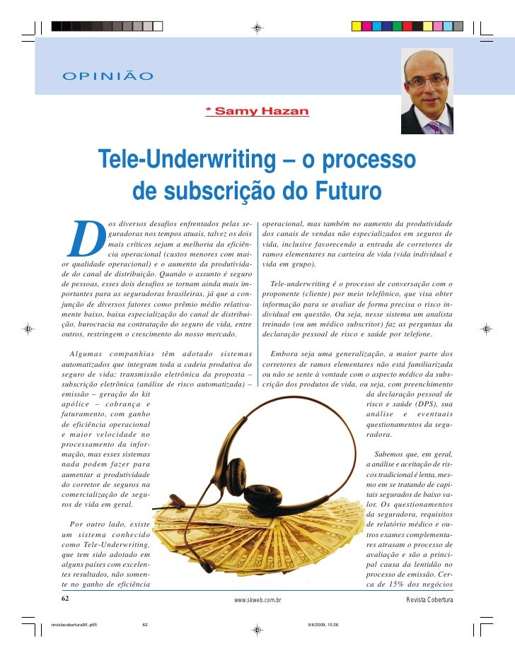 Tele underwriting