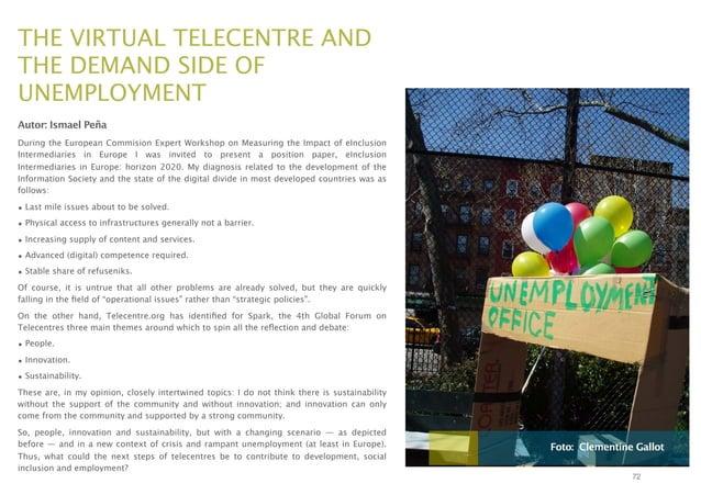 Telecentros 3.0 y la innovacion social en la red